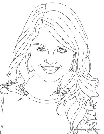 364x470 selena gomez coloring pages free online games videos for kids