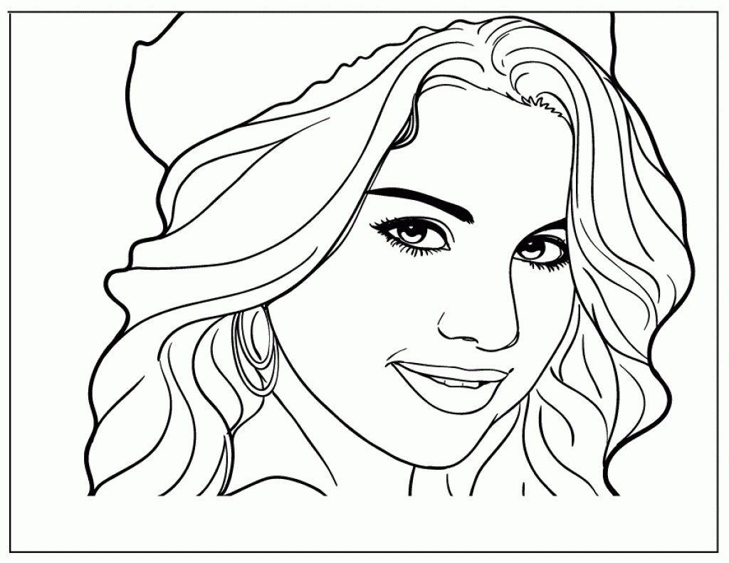 Selena gomez drawing at free for for Wizards of waverly place coloring pages