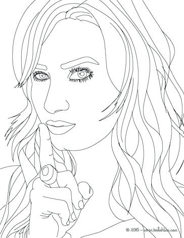 364x470 Demi Lovato Coloring Pages Concert Coloring Page Selena Gomez