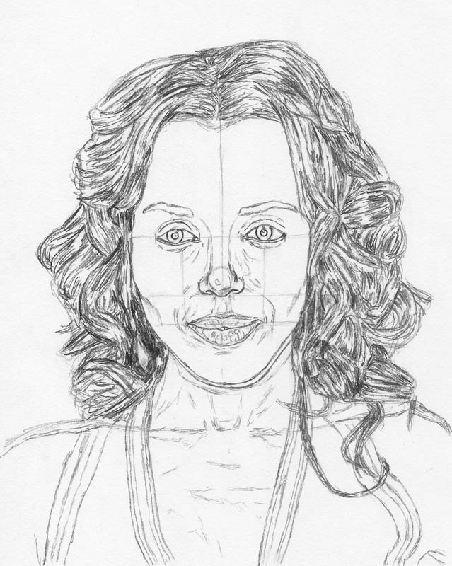 639x800 How To Draw A Face Kerry Washington Tutorial Let's Draw People