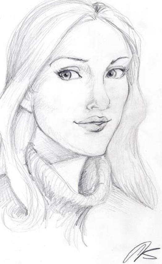 524x853 How To Draw Pretty Mom