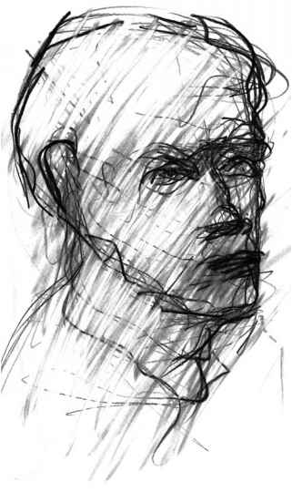 321x540 Gestural Drawing With Graphite