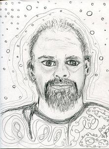 221x300 Joe Self V6 Drawing By Joe Ballone