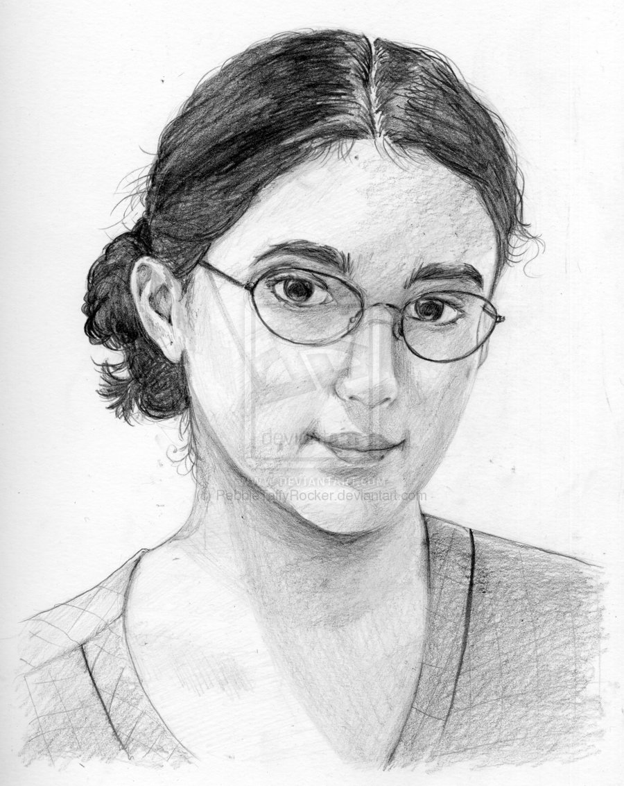 900x1133 Photos Self Portrait Drawing,