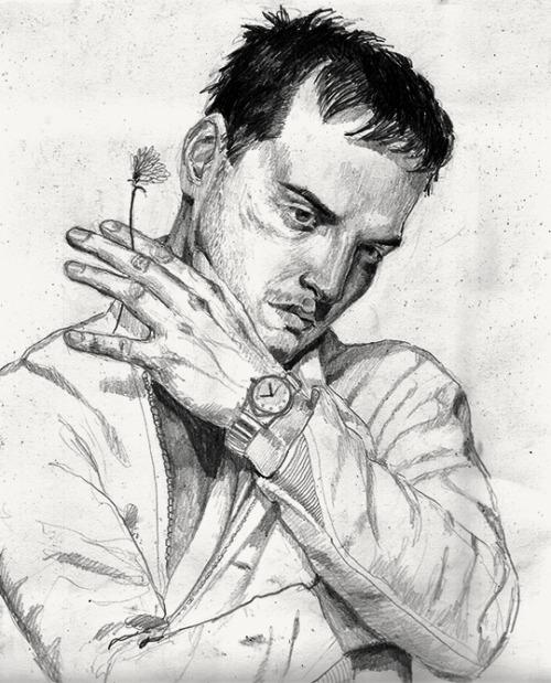 500x619 Andrew Scott Drawing Tumblr