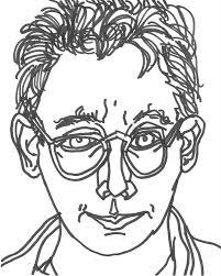 201x251 Self Portrait Drawing