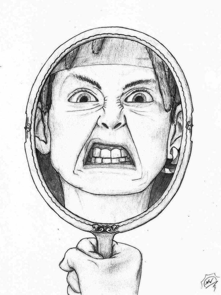 Self Portrait Ideas Drawing