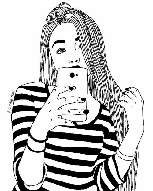 Selfie Drawing At Getdrawings Com Free For Personal Use Selfie
