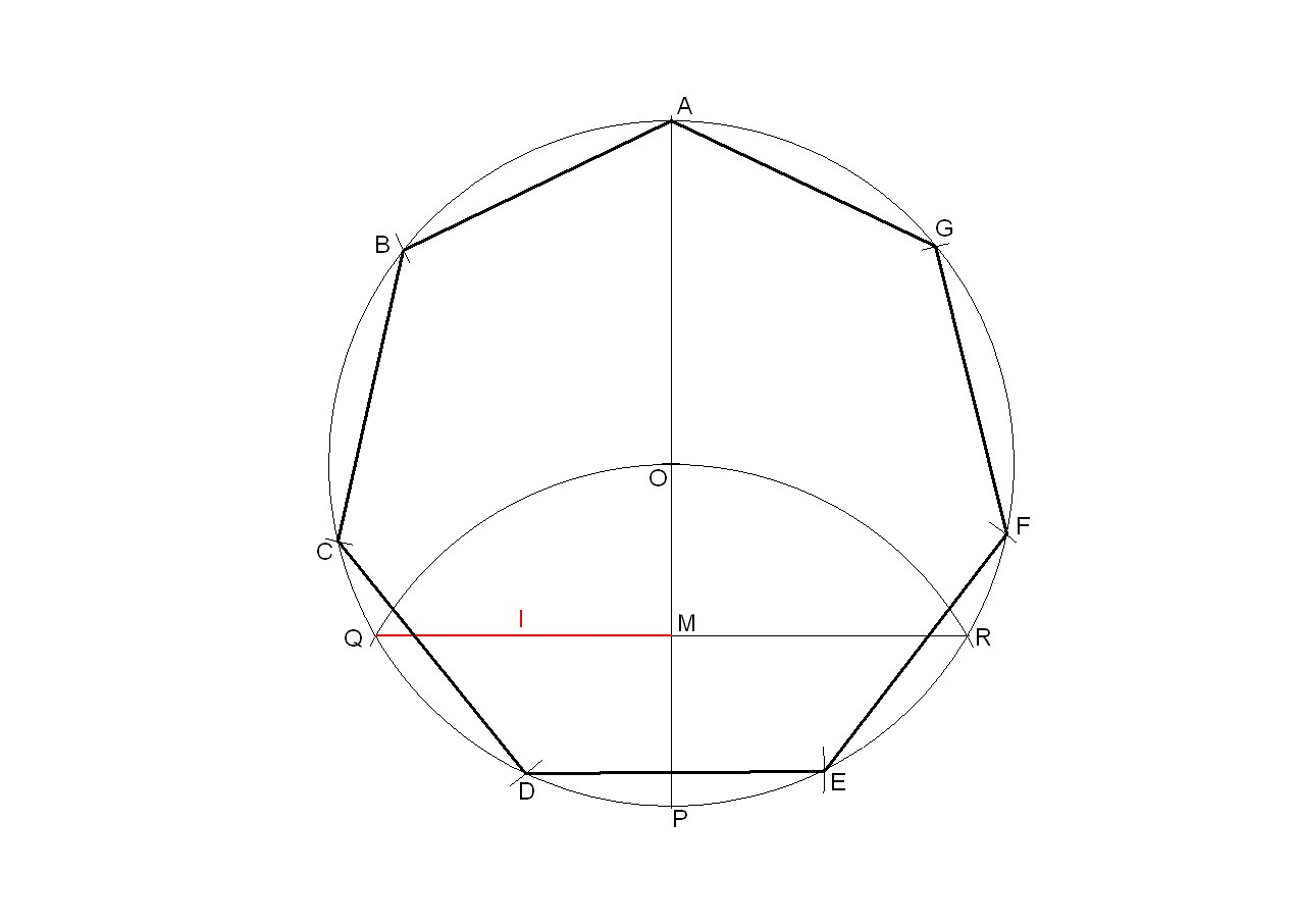 1273x906 How To Draw A Regular Heptagon Inscribed In A Circle