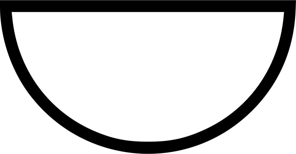 980x510 Semi Circle Svg Png Icon Free Download ( 448745)