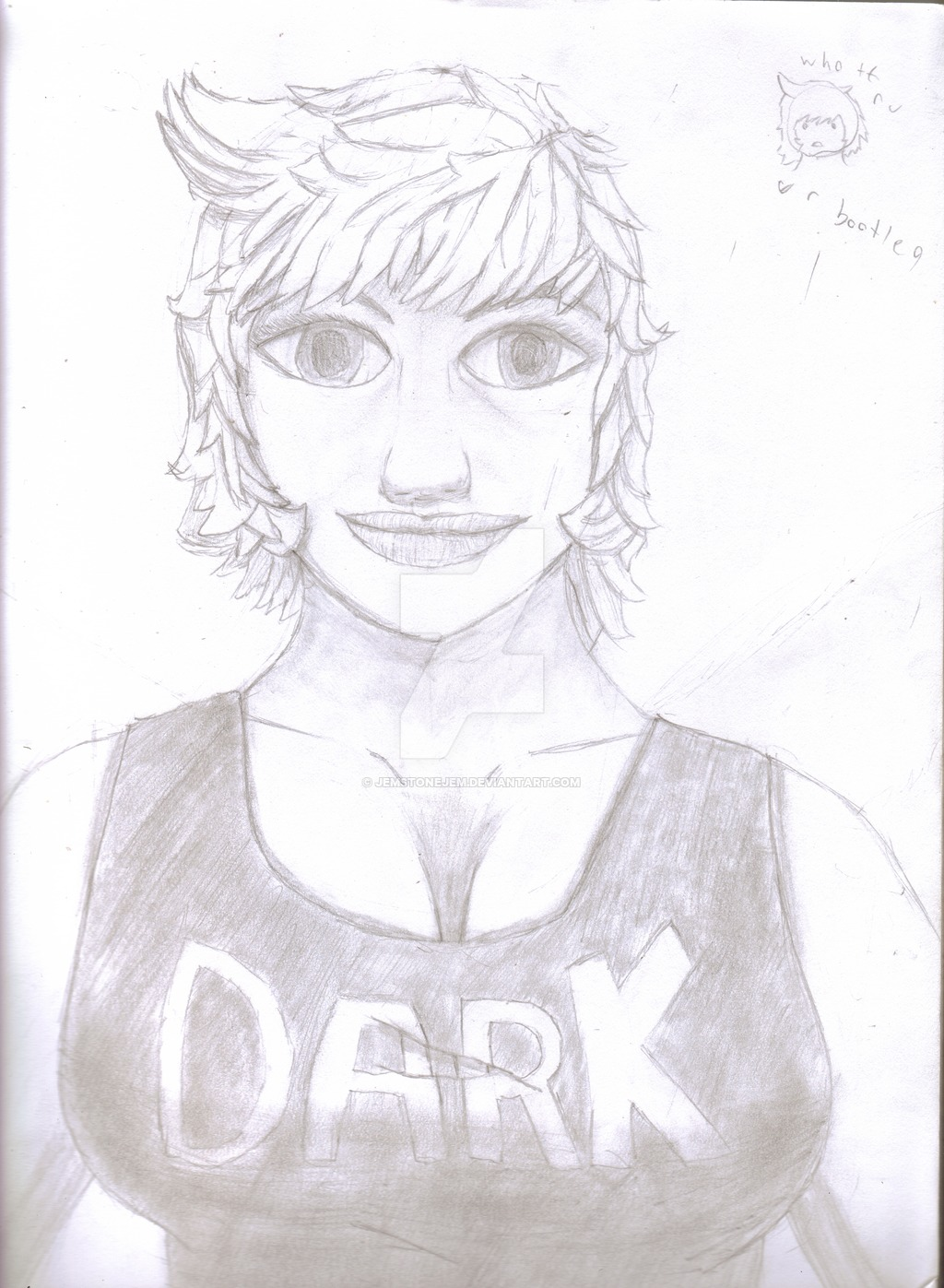 1024x1397 I Attempt To Draw Semi Realistic Kate By Jemstonejem