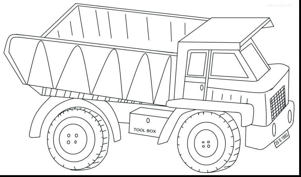 970x571 Free Coloring Pages Construction Vehicles Unique Truck Ideas
