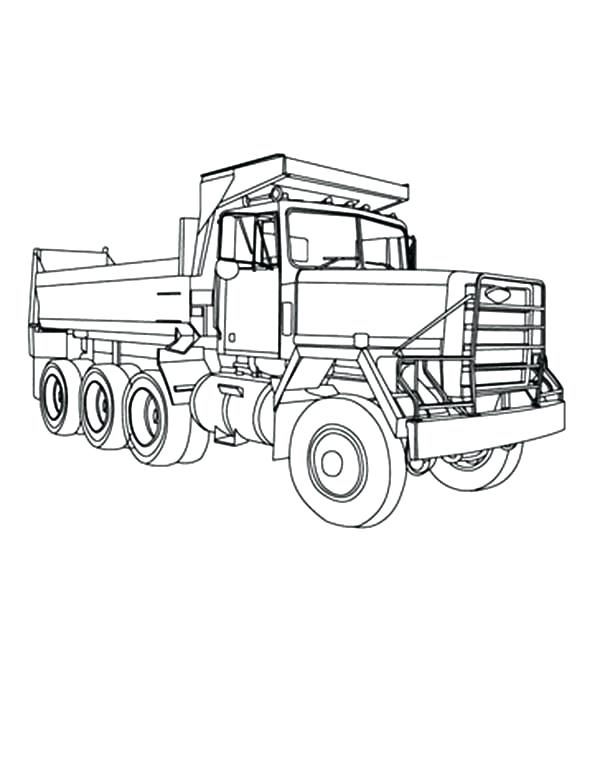 600x775 Army Truck Coloring Pages Omnitutor.co