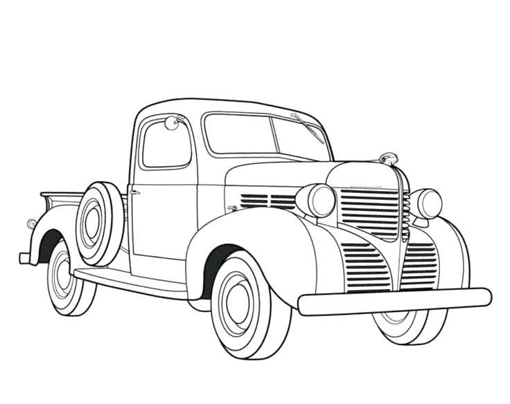 736x584 Coloring Sheetcom Truck Coloring Sheet Big Tow Semi Truck Coloring