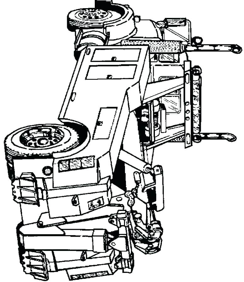 775x897 Coloring Pages Truck Unique Truck Coloring Pages In Coloring Pages