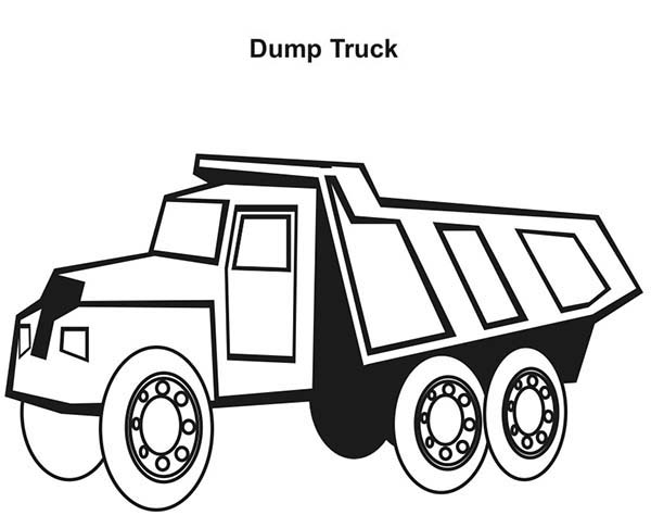 Semi Truck Outline Drawing At Getdrawings Com Free For