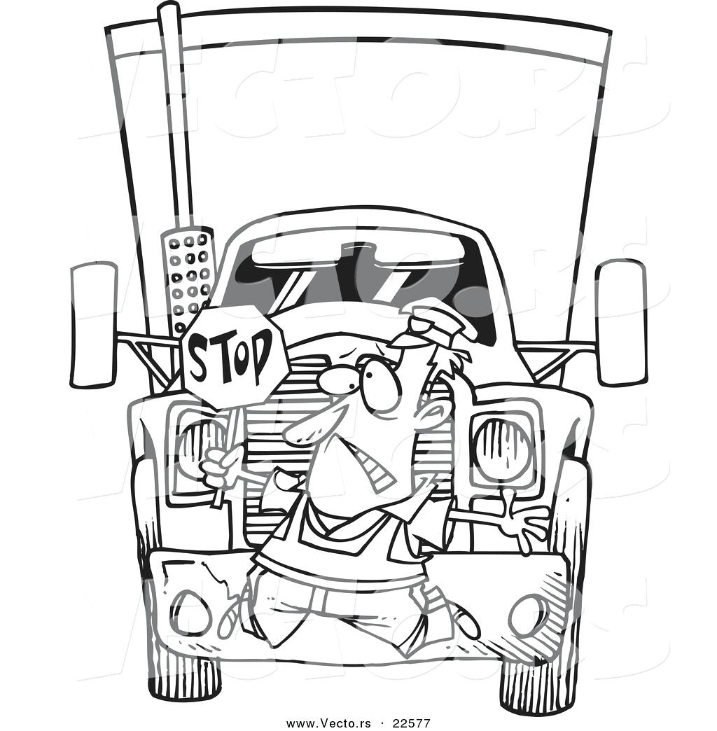 1024x1044 Coloring Big Rig Coloring Pages Excellent With Semi Truck