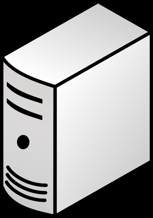 500x713 Filetower Torre Pc Clon Server.svg
