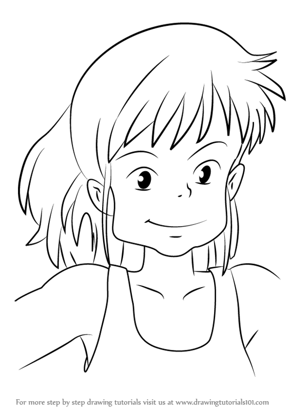 565x800 Learn How To Draw Ursula From Kiki's Delivery Service (Kiki'S