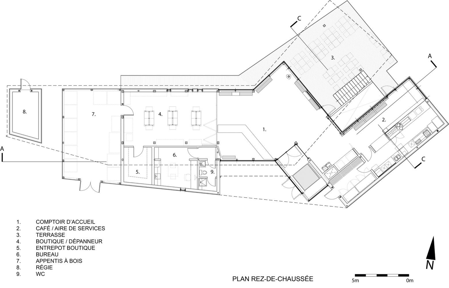 1559x1000 Gallery Of Centre De Services Le Bonnallie Anne Carrier