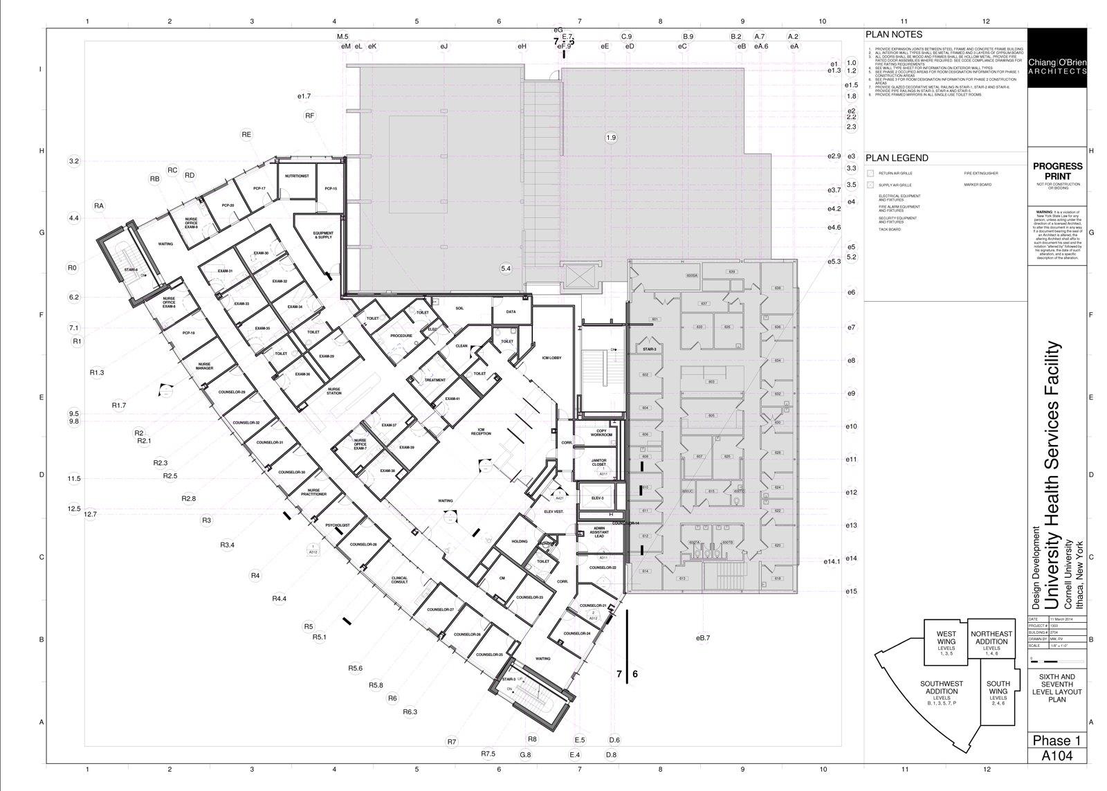1600x1143 Ithaca Builds Cornell Gannett Health Center Expansion