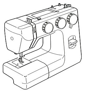 275x300 Printed Kenmore By Sears 385.12102 Sewing Machine Manual (Smm896