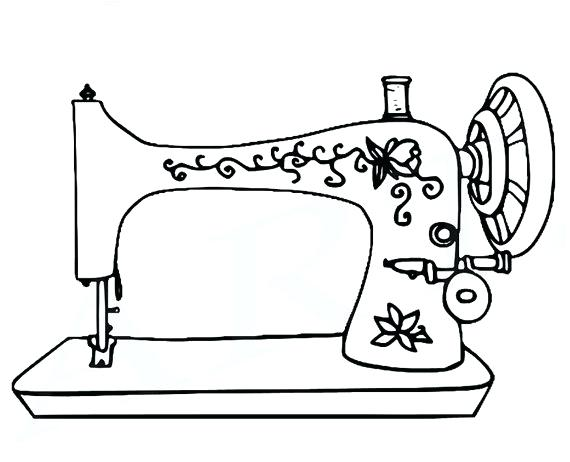 570x462 Sewing Machine Clipart Vintage Sewing Machine Sewing Machine Clip