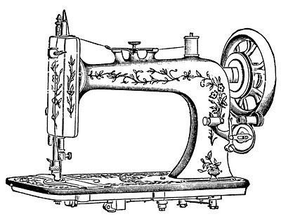 400x314 The Sewing Machine