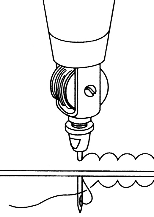 518x727 Lock Stitch Sewing Awl Thread Kit X2 Needles Stitch Leather Fabric