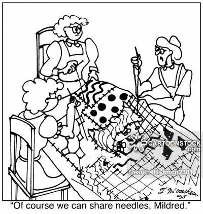 400x422 Sewing Needle Cartoons And Comics