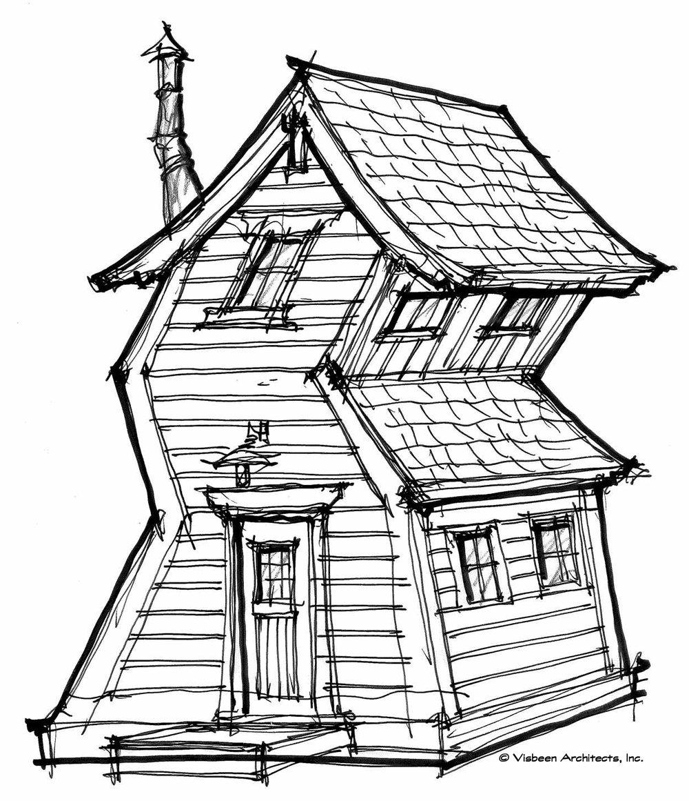 1000x1161 Playhouses Visbeen Architects, Inc.