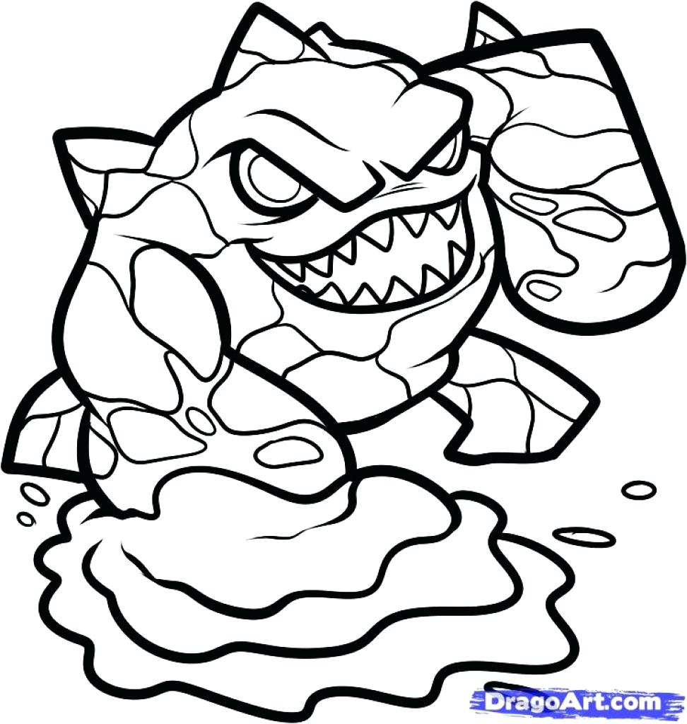 972x1024 Coloring Printable Skylanders Coloring Pages Rattle Shack Charge