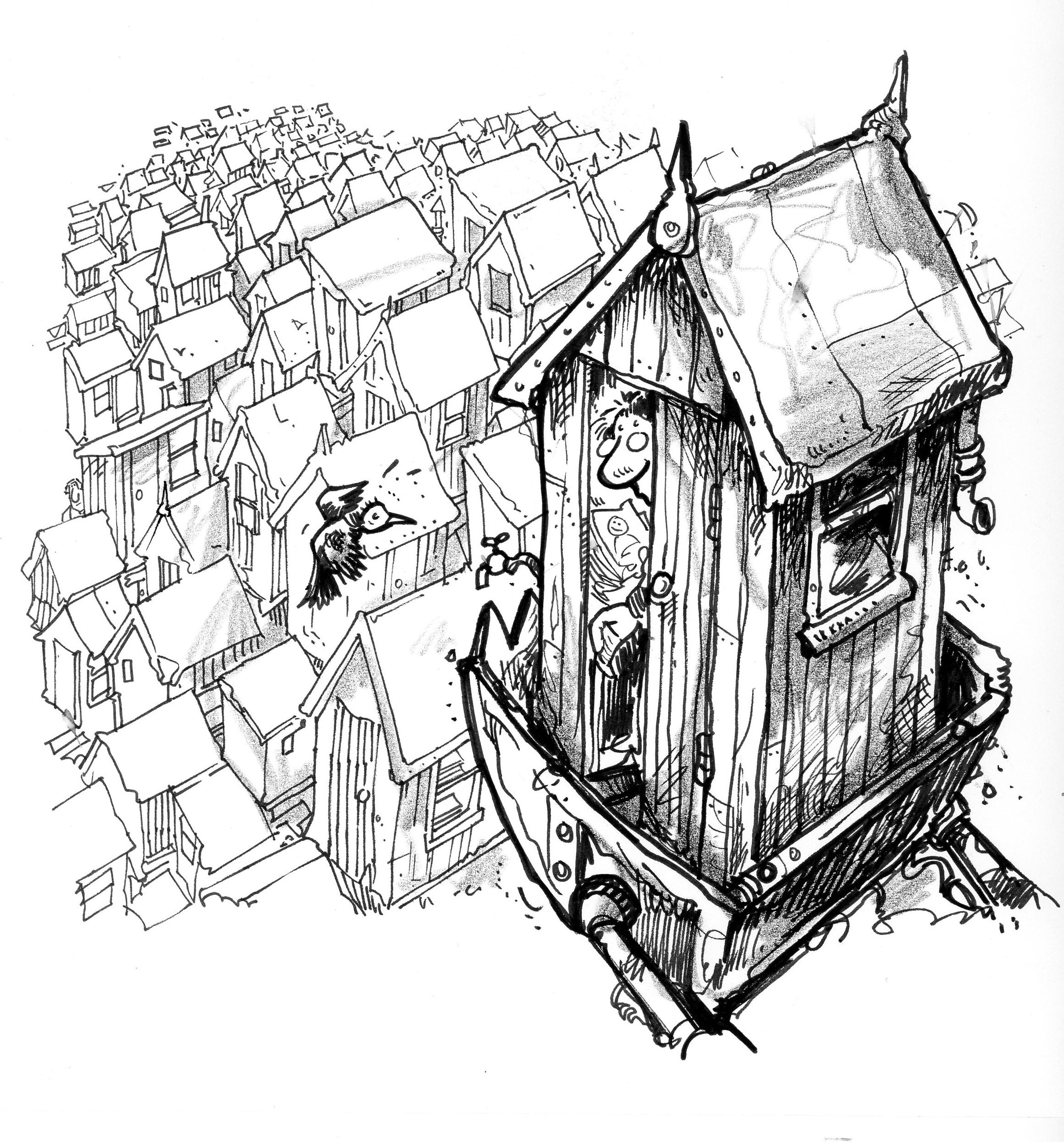 2317x2485 Drawing Paul Davies Cartoons