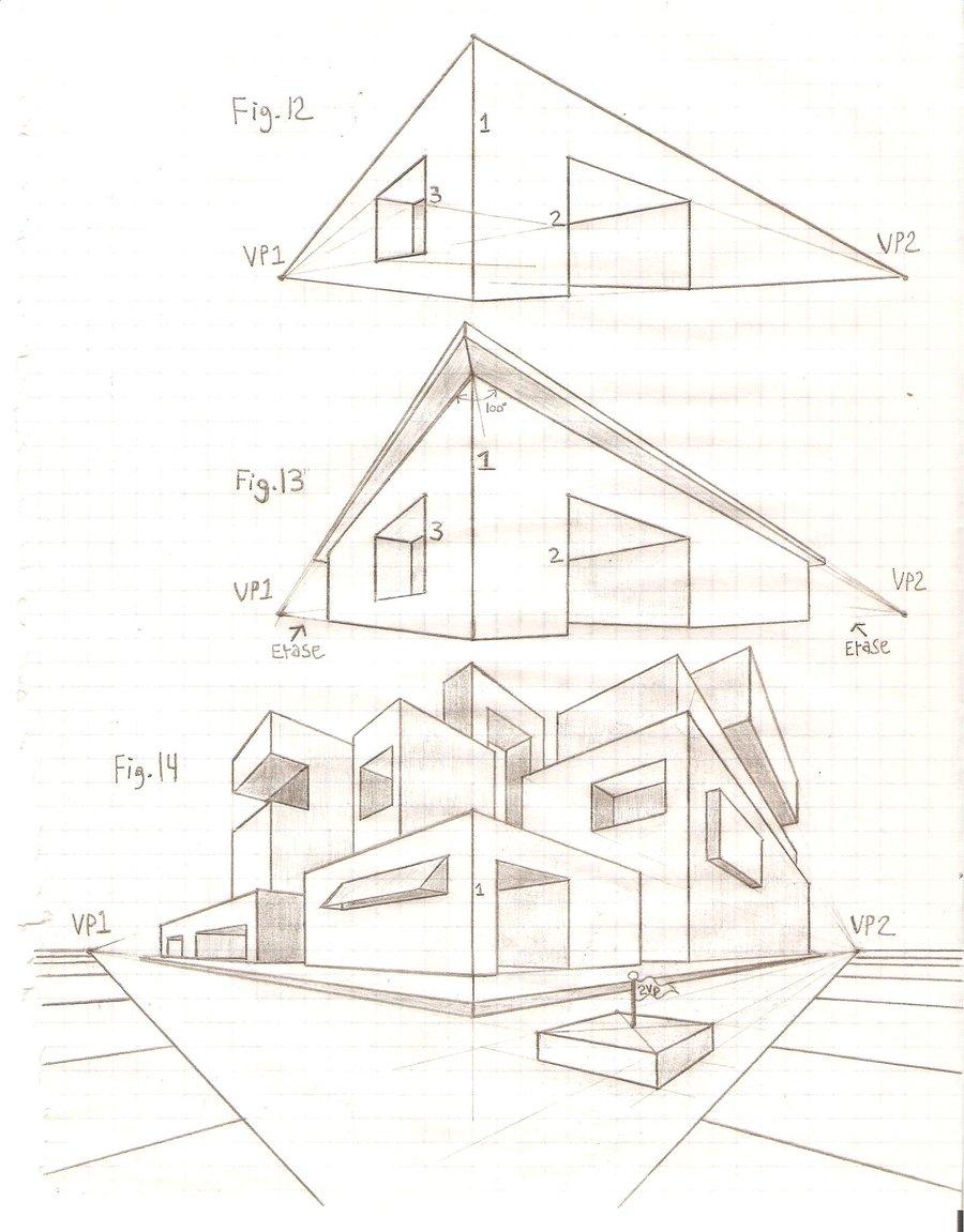 900x1151 Perspective Tutorial 2vp 9 By Griswaldterrastone
