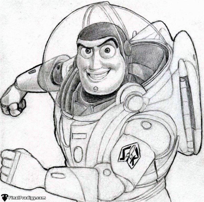 776x768 How To Draw Buzz Lightyear, Toy Story