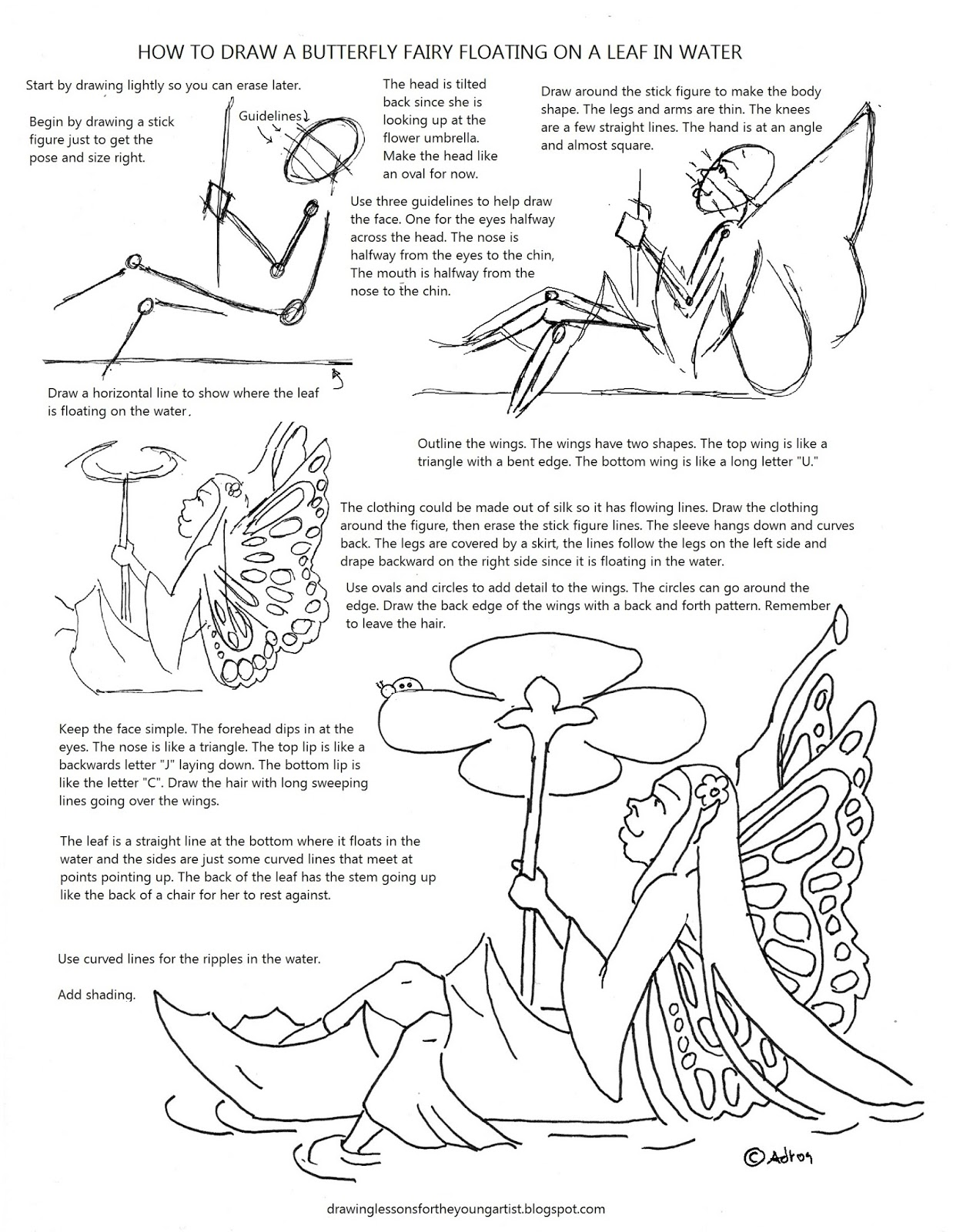 1238x1600 How To Draw Worksheets For The Young Artist