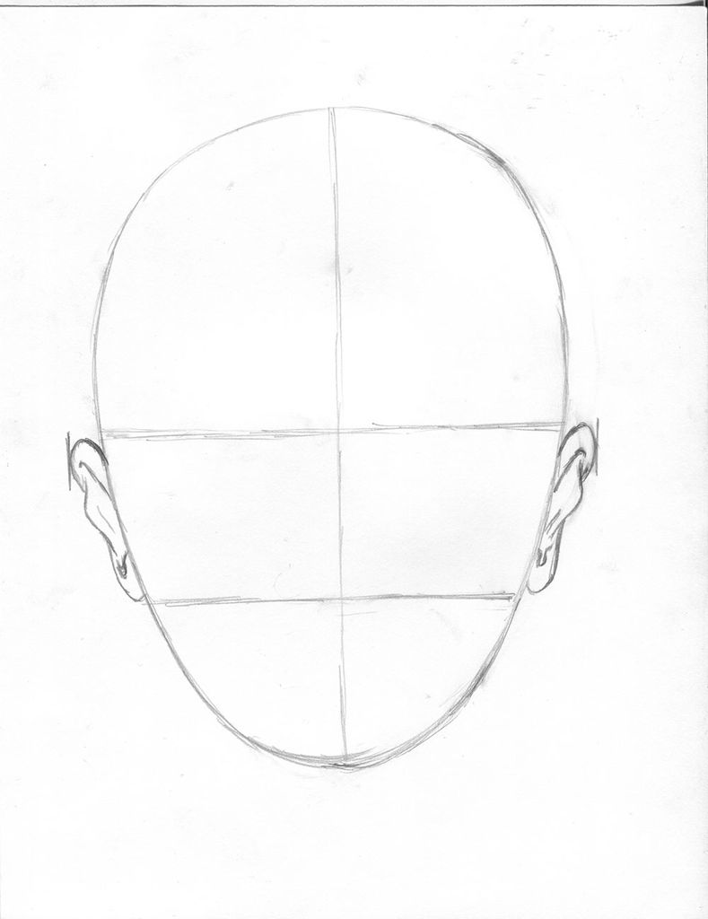 789x1024 How To Draw A Face (Proportions Made Easy) 14 Steps