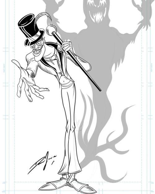 500x625 The Art Of Dean Irvine, Day 2 Of Disney Villain Week Dr Facilier