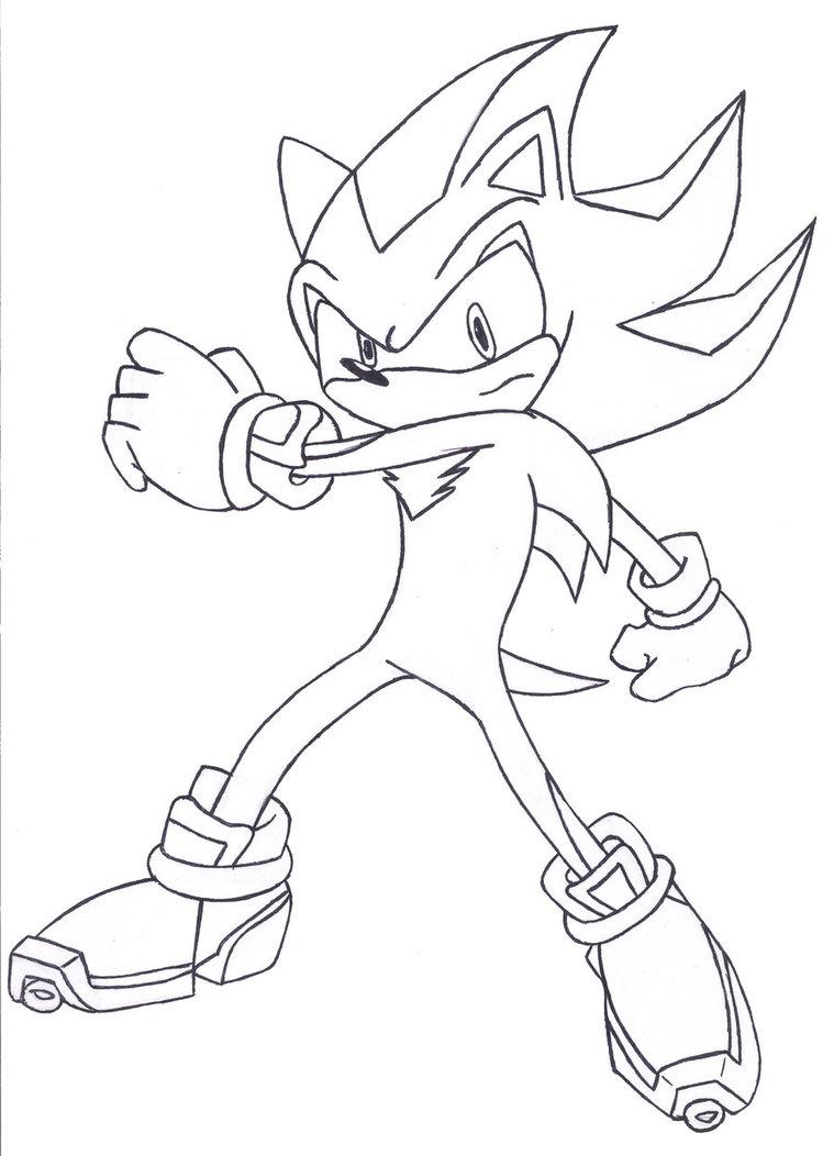 759x1052 Shadow The Hedgehog Sketch 2 By Shadowth87