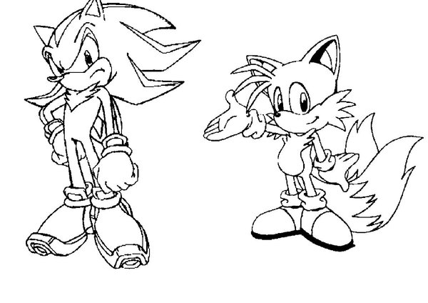 600x424 Shadow And Tails 1 By Sonic Fan 126