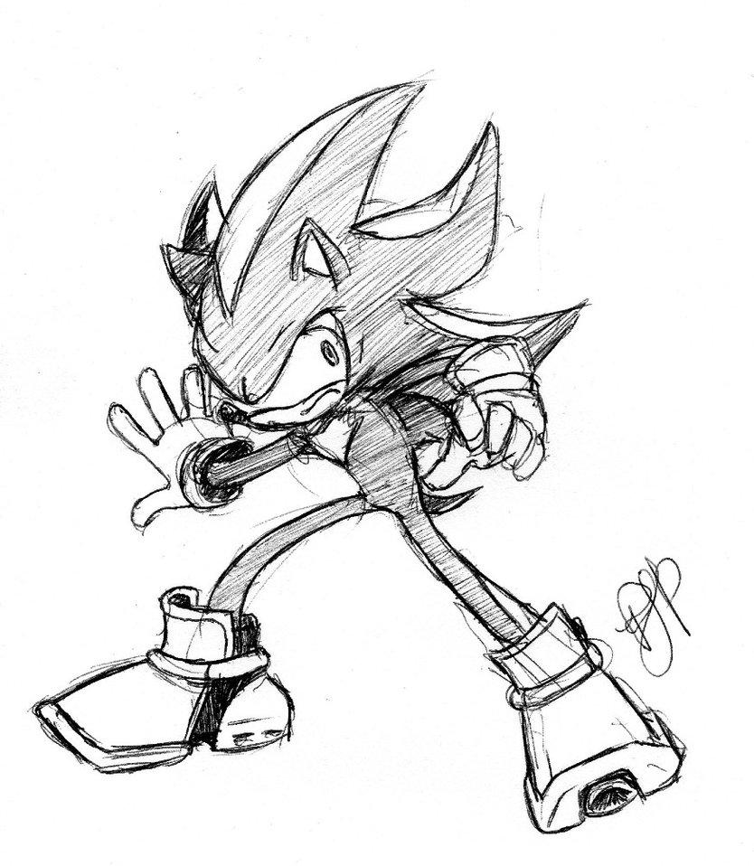 834x958 Shadow The Hedgehog 2 By Arvalis