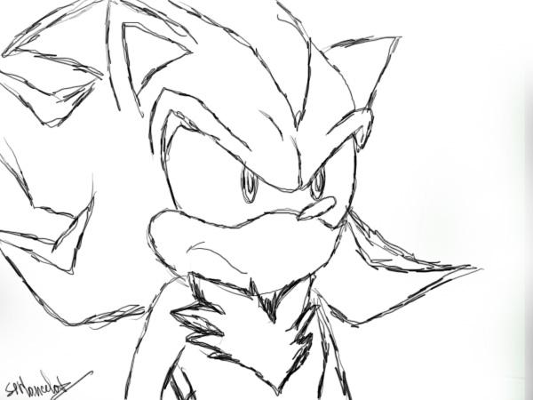600x450 Shadow The Hedgehog By Sir Lancelot1