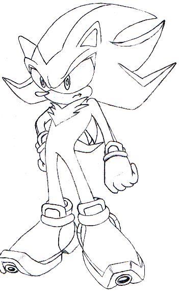 351x570 Shadow The Hedgehog By Knuckles Zero Kaiba