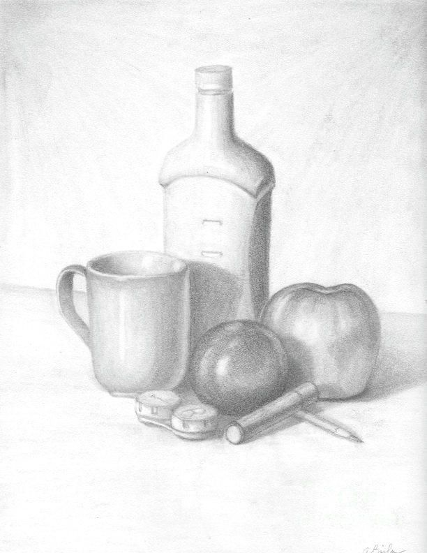 612x792 16 Best Cast Shadows Images On Still Life Drawing
