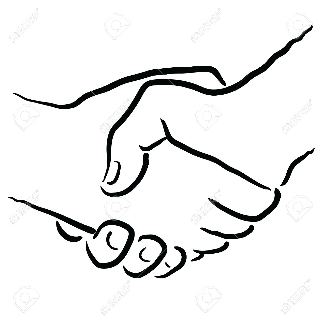 1300x1300 Shake Hands Royalty Free Cliparts, Vectors, And Stock Illustration