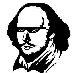 256x256 Shakespeare Selfie (@shakesselfie) Twitter