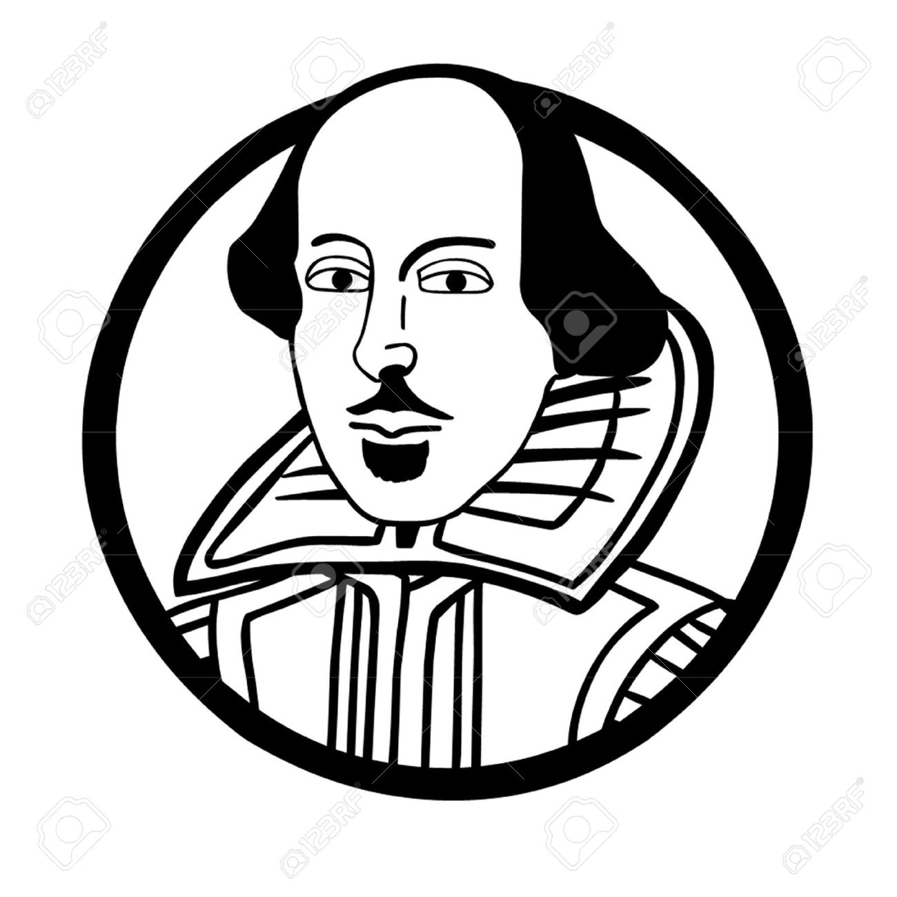 1300x1300 William Shakespeare Royalty Free Cliparts, Vectors, And Stock