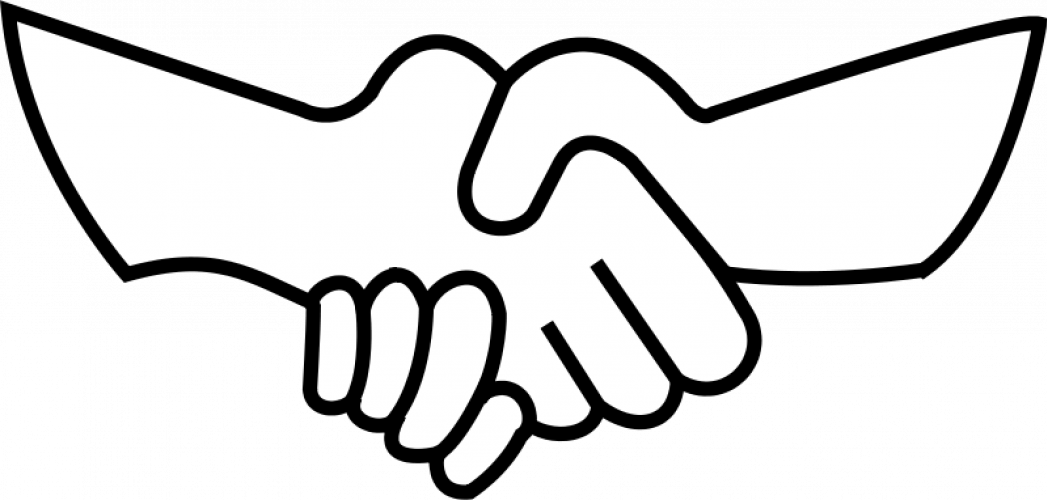 1047x500 Shaking Hands Clipart