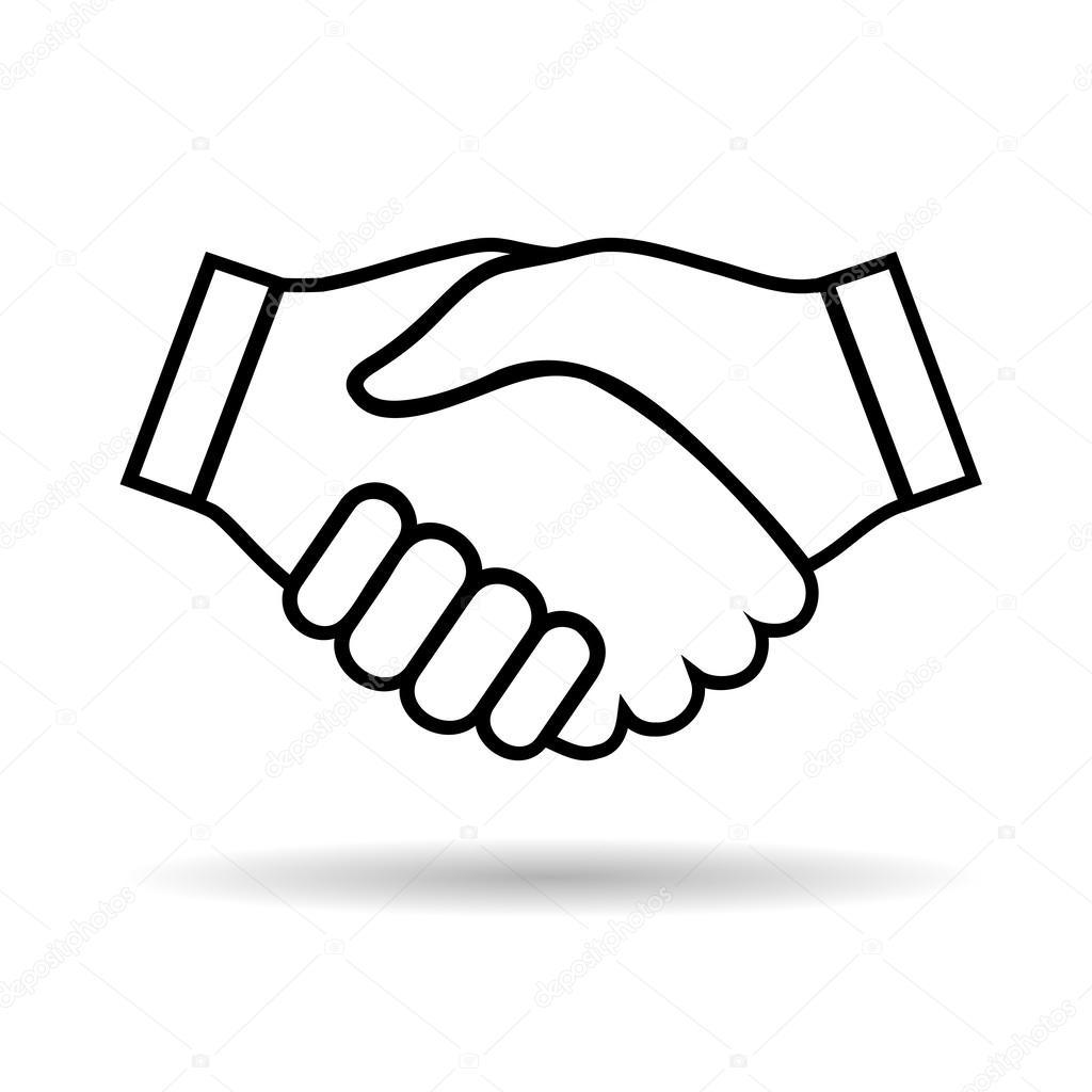 1024x1024 Icon Handshake Stock Vector Cherkas
