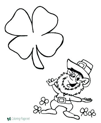 350x428 Shamrock Coloring Pictures Tiara Coloring Pages Shamrock Coloring